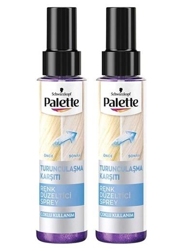 Palette Palette 2'li laşma Karşıtı Renk Düzeltıcı Sprey 100 ml Renksiz